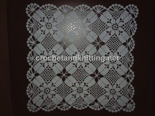 3003010921 3037fd3361 Squared White Doily