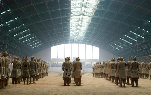 El imponente ejército de arcilla. Los guerreros de Terracota. Xian (2)