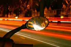 Mirror Trails (dan-ish) Tags: city light urban night lights town twilight birmingham traffic bright trails twinkle sparkle civic nights metropolis lighttrails residential developed metropolitan brum settlement urbanised urbanized brummie builtup