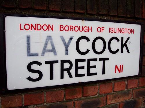 London rudest street names