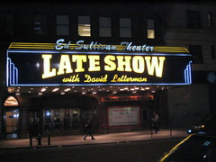 Late Show with David Letterman (BrianACreech) Tags: nyc newyorkcity bigapple newyorknewyork newyorkny lateshowwithdavidletterman edsullivantheater