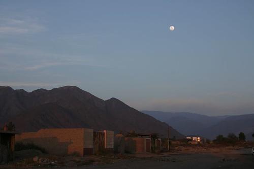 Nazca dusk.