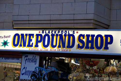 Blackpool Pound Shop