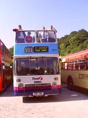 Bristol VR  PMT 622/First 30001 (GBF78N) (Deltabus) Tags: bristolvrt pmt churnetvalleyrailway westernnational bristolvr firstpmt potteriesmotortraction firstwesternnational firstdevoncornwall firstpotteries