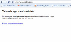 Motrin.com is down