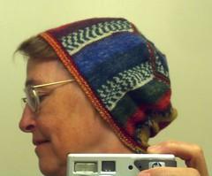 Sideways cap