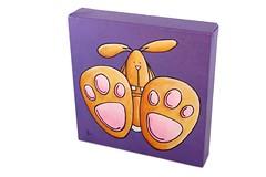 bunny feet - side