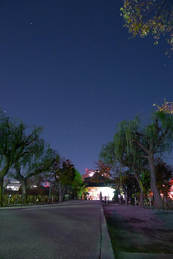 Stars on Ueno