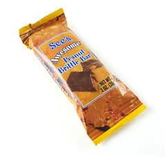 See's Awesome Peanut Brittle Bar Package