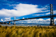 Oakland Bay Bridge - San Francisco (Ashish T) Tags: sanfrancisco california ca bridge landscape oakland sfo bayarea ashisht ashishtibrewal