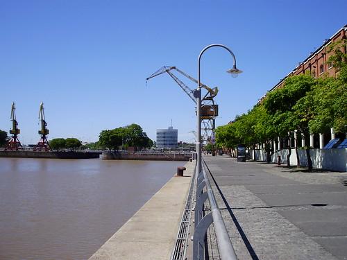 Puerto Madero - el lado de acá