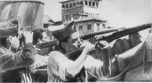 Combates en Zocodover en verano de 1936