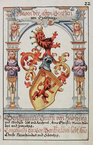 003-Escudo de armas del viejo Conde Habsgurg-saa-V4-1985_022r