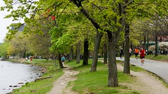 (vandykee) Tags: park cambridge red boston river redribbon ribbon
