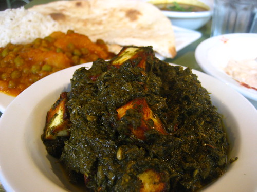 Saag Paneer at Chaat Cafe, San Francisco