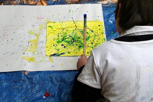 Jackson Pollock lesson 1
