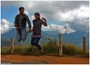 from De Heights of ... .. (Naseer Ommer) Tags: friends india canon jump kerala munnar naseerommer canoneos40d eravikulamnp discoverplanet dpintl