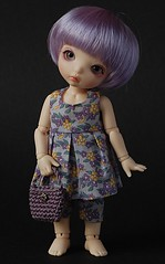 outfit in lilac (*KaChu*) Tags: handmade sewing lilac fairyland icis pukifee
