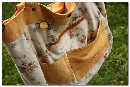 Sunny Ruffles Bag - flower lining