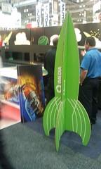 X-Board Rocket Standee