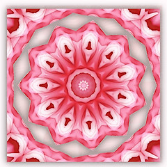 luminous spring love 3 (SueO'Kieffe) Tags: nature digital photoshop patterns kaleidoscope mandala spirituality