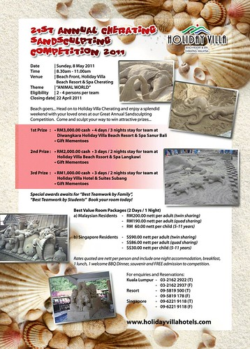 Sand Sculpting website