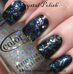 Color Club Covered in Diamonds (CrystalPolish) Tags: colorclub topcoatglitter untamedluxury coveredindiamonds