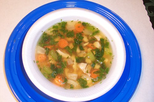 Tuscan Smoked Turkey & Bean Soup. Ira B. Jones Elementary is a finalist in the Recipes for Healthy Kids competition.
