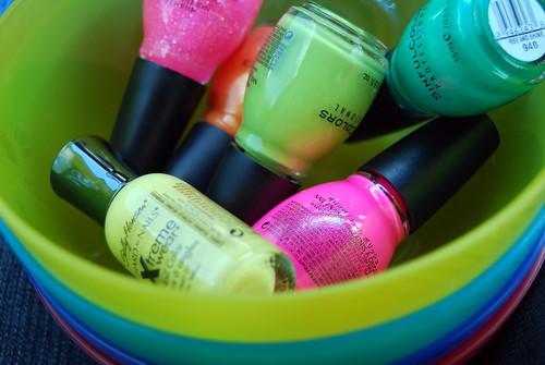 Summer manicures