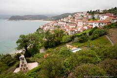 Lastres y el Jardn (machbel) Tags: mar monumento jardin asturias playa lastres