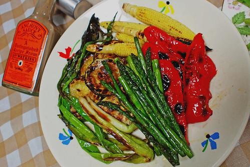 地元産野菜のグリル