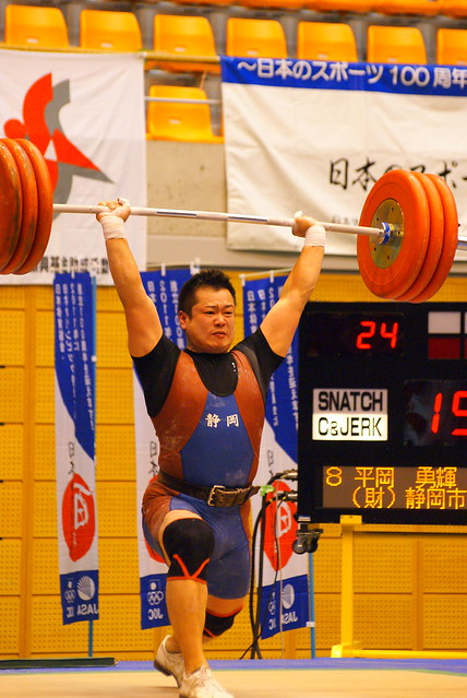 2011全日本選手権 平岡勇輝選手 クリーン&ジャーク第2試技 190kg