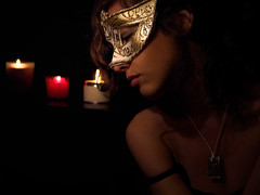 Fantasy at night (Sator Arepo) Tags: carnival venice portrait night dark reflex candle mask olympus fantasy lowkey zuiko burano e500 uro 1454mm zd1454mm retofz080610