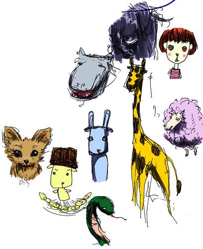 動物と木村カエラ