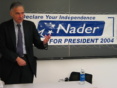 Ralph Nader in 2004