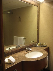 My hotel room - Harbour Plaza North Point