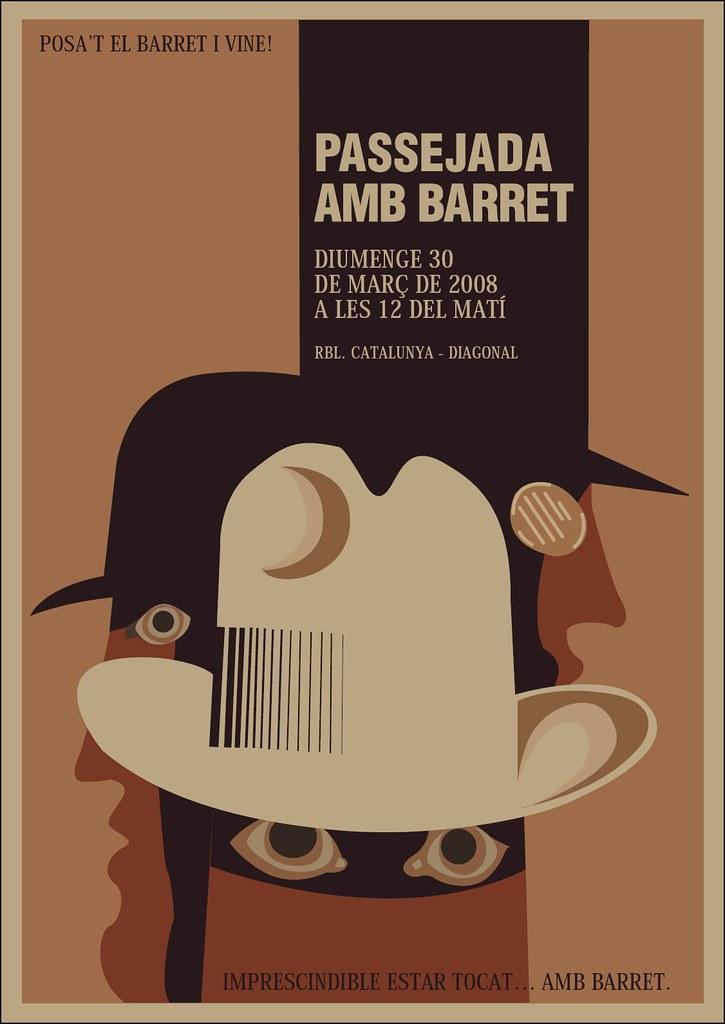 Poster of the 2008 Passejada amb barret