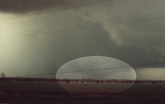 Haven, Ks. March 13, 1990 - The Hesston, Ks tornado before it hit Hesston (BOX72.com) Tags: county red cloud vortex storm haven weather hail wall clouds warning matt box oz wizard cell super national website chase damage kansas service thunderstorm tornados dennis reno twister storms tornado wichita 72 cyclone thunder funnel spc chasing chaser severe thunderstorms severeweather ict nws meso chasers box72 spotter funnelcloud supercell skywarn hesston wallcloud mesocyclone mattdennis kansasthunderstorm kansasthunderstorms box72com stormpredictioncenter