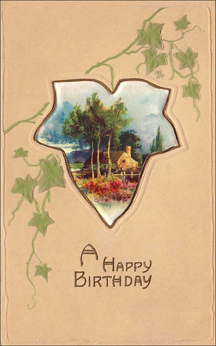 Vintage Birthday Card '08