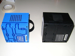Gamecube 3D Bead Sprite, Comparison Bottom (Doctor Octoroc) Tags: nintendo videogames gamecube hamabeads perlerbeads beadsprite doctoroctoroc