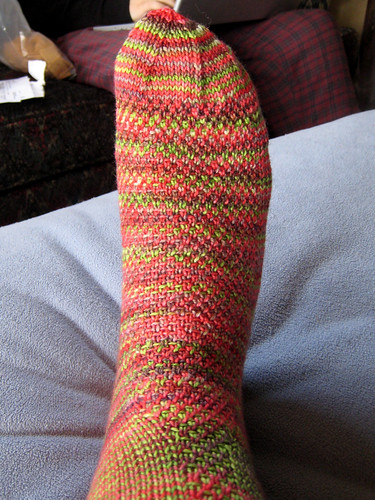 Twisted Sky Sock