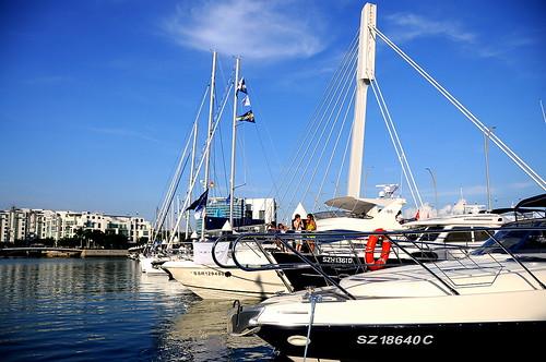 Boat Asia 2008 at Marina@Keppel Bay, Keppel Island, Singapore