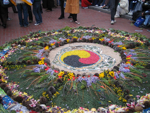 Mandala for Tibet by tdoginsf.
