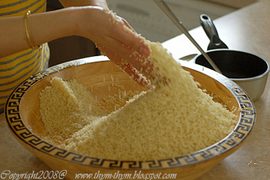 Making Couscous