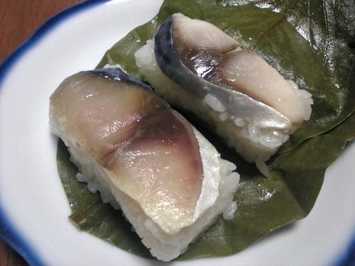 柿の葉寿司比較「たなかvsヤマト」
