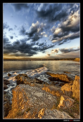 Cap d'Antibes #5 (French Riviera) - HDR (Eric Rousset) Tags: sea sky mer seascape france clouds photoshop landscape photography coast reflex bravo rocks europe raw cs2 quality sony wideangle côtedazur ciel adobe bec 1020mm nuages 2008 hdr highdynamicrange rochers photomanipulated bpp capdantibes frenchriviera alpesmaritimes themoulinrouge roq blueribbonwinner firstquality photomatix sigma1020 vob tonemapping fpg flickrsbest golddragon alpha100 abigfave sonydslra100 anawesomeshot flickrplatinum hdrenfrancais superbmasterpiece travelerphotos infinestyle diamondclassphotographer flickrdiamond megashot bratanesque ysplix theunforgettablepictures mediterraneensea brillianteyejewel theperfectphotographer theroadtoheaven goldstaraward piproduction ericrousset mastersoflifegallery thegreatshooter magicdonkeysbest vision100 ericroussetphotography poseidonsdance artinoneshot