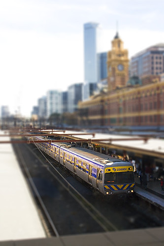 Connex Train, Melbourne