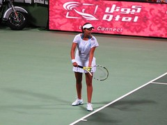 sania mirza to serve (monmonch) Tags: indian tennis idol wtf sania mirza saniamirza serves khalifastadium womentennis qatartotalopen qataropen