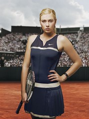 Maria Sharapova to Wear TIFFANY Earrings ($Ricardox$) Tags: maria roland earrings tiffany sharapova garros