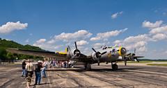 Liberty Belle (photobunny) Tags: airplane cincinnati b17 bomber warbird lunken libertybelle
